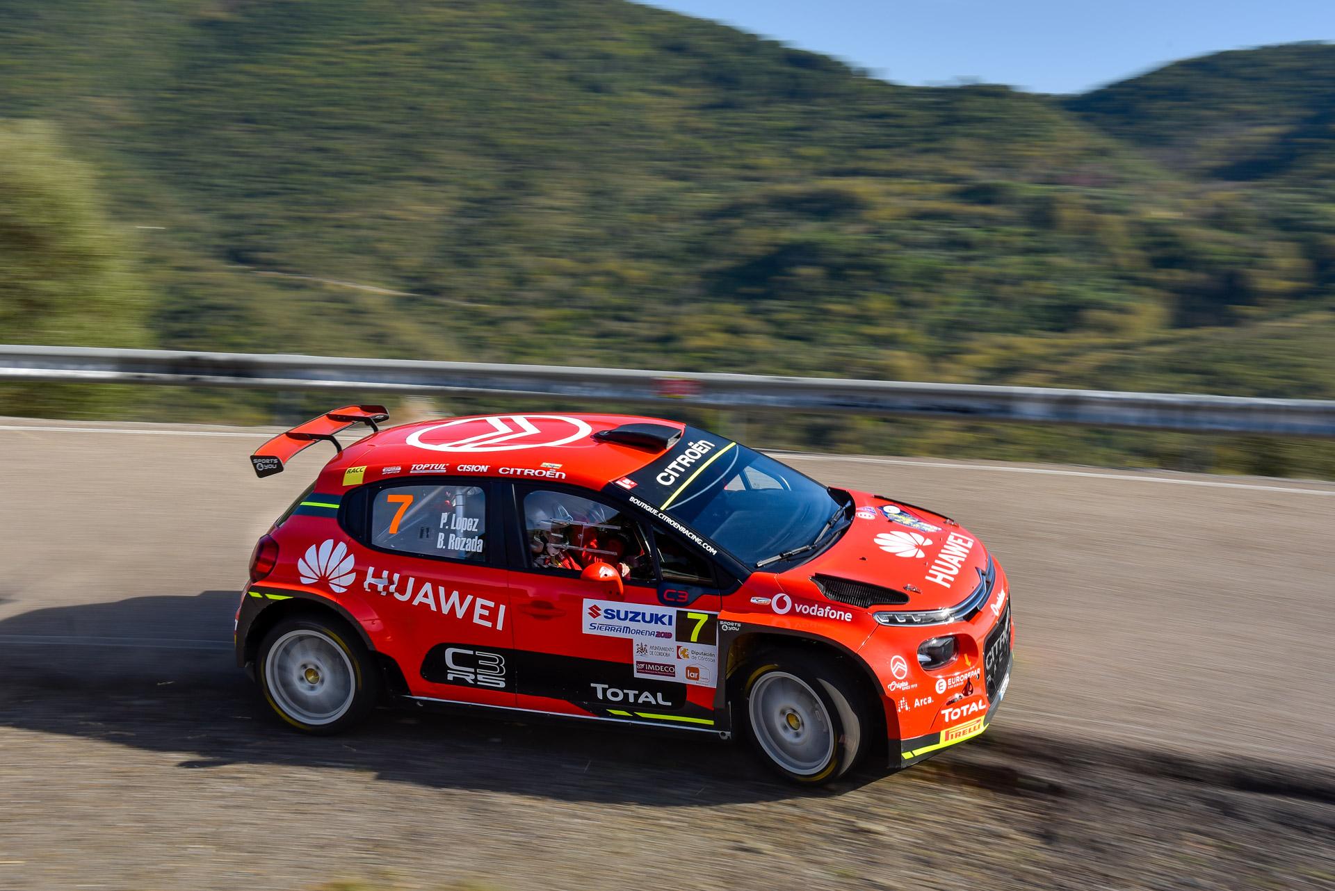 Pepe López, Citroen DS3 R5, Rallye Sierra Morena