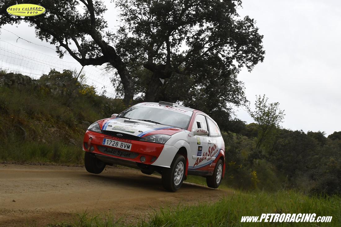 A.Rubio/V.Franco (Ford Focus ST), ganadores del andaluz