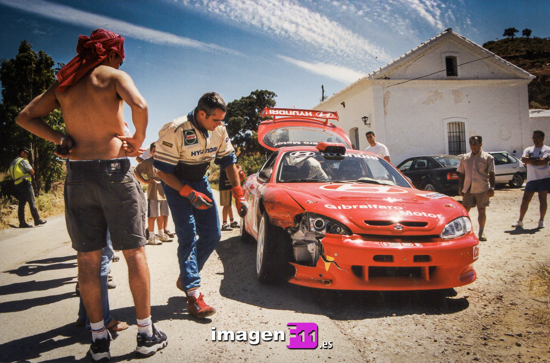 Eusebio Frías, Hyundai Coupé Kit Car, Rallye Gibralfaro, Tramo Casabermeja