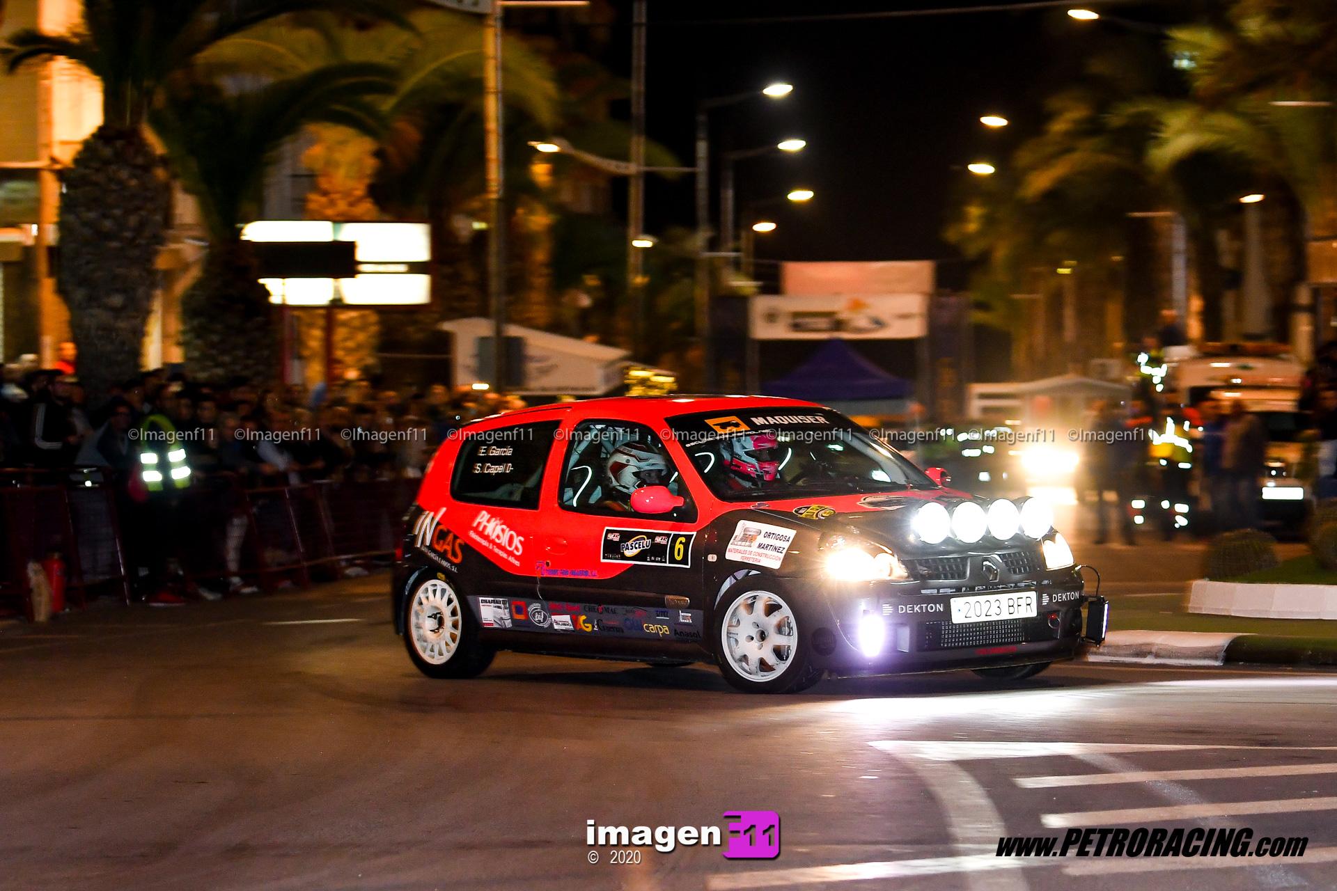 sergio capel, campeonato de Andalucía de rally, Rallye valle del almanzora