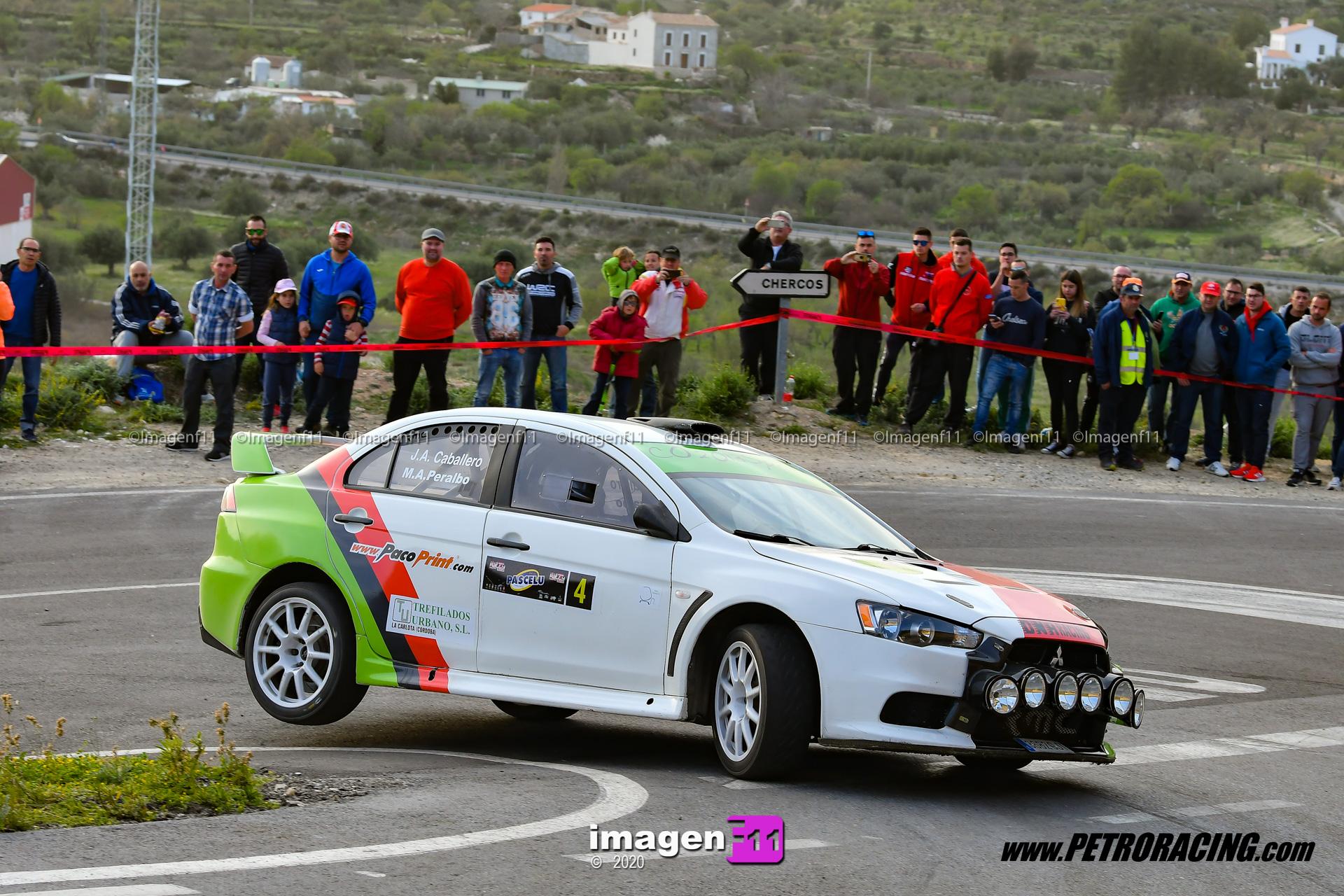 Jose Antonio Caballero, Mitsubishi Lancer EVO X, Rallye Valle del Almanzora