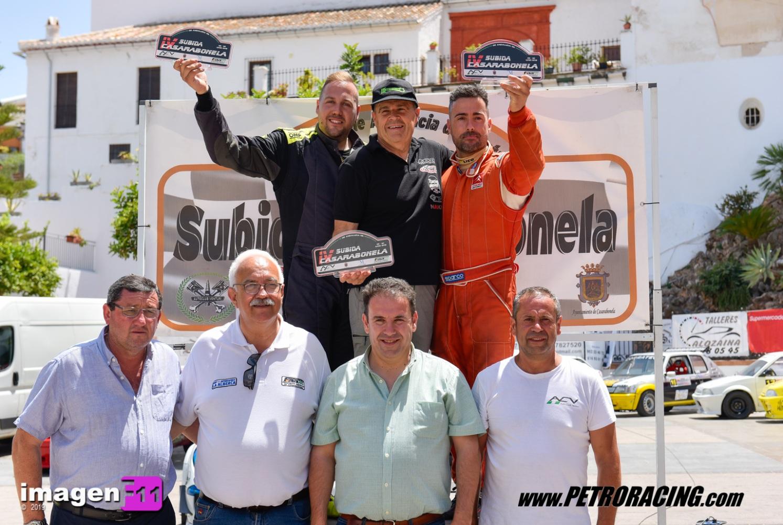 Humberto Janssens, Subida Casarabonela, campeonato andalucia montaña
