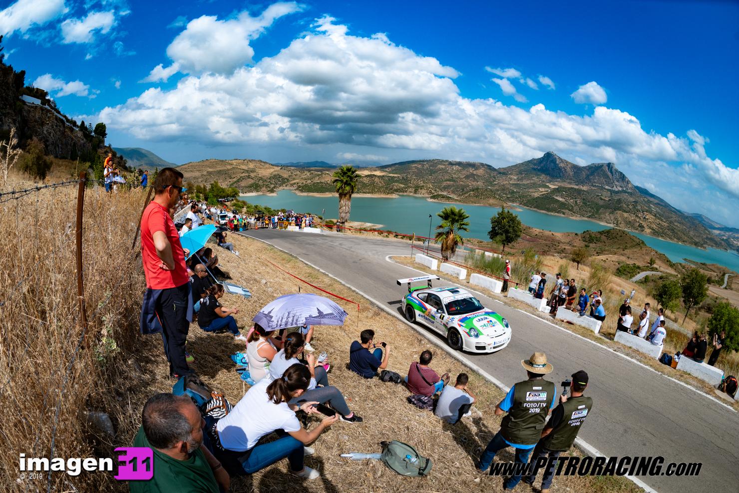 Jose Antonio Aznar, Porsche 911 GT3 Cup Rallye, Rallye Sierra de Cádiz, Campeonato de Andalucía de Rallyes