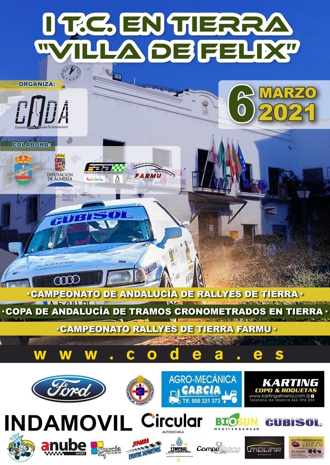 Cartel 1 TC Tierra Villa de Felix 2021
