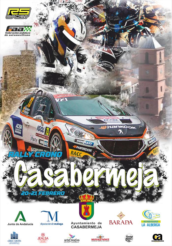 Cartel Rally Crono Casabermeja 2021