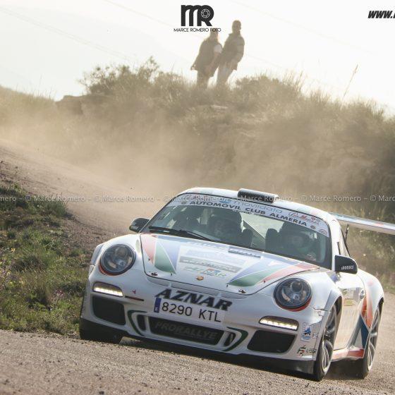 Victoria para José Antonio Aznar y Crisanto Galán en la primera edición del Rallye de Carboneras. El almeriense y el cordobés se llevaron 8 de los 9 Scratch.