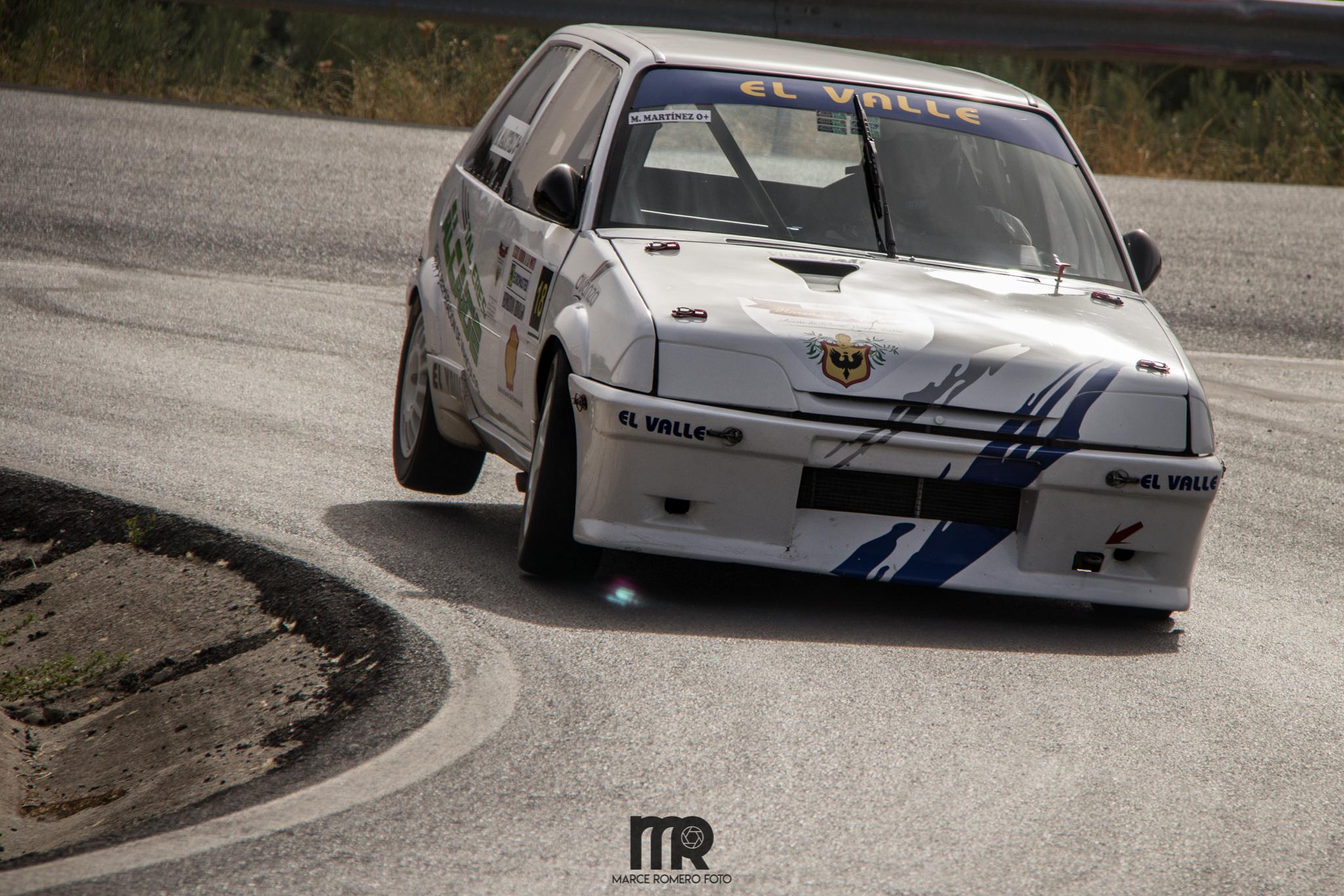 El local Mario Martinez logró destacar de forma notable con un AX A ½ que sigue adaptándose a la perfección a los trazados de la montaña andaluza.