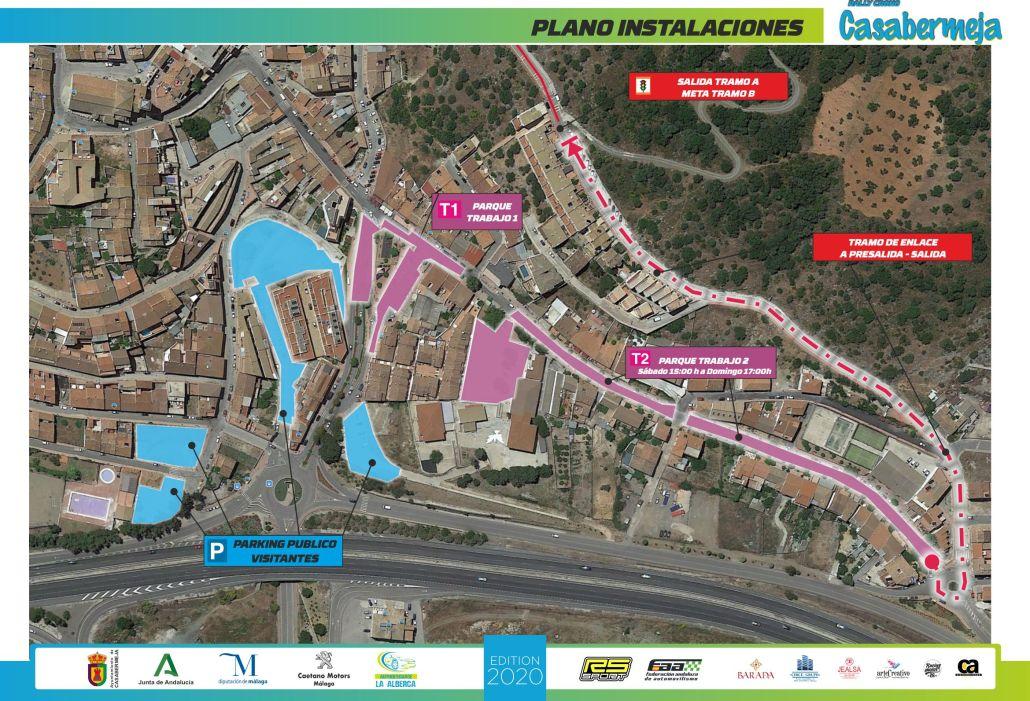 Instalaciones Rally Crono Casabermeja 2021