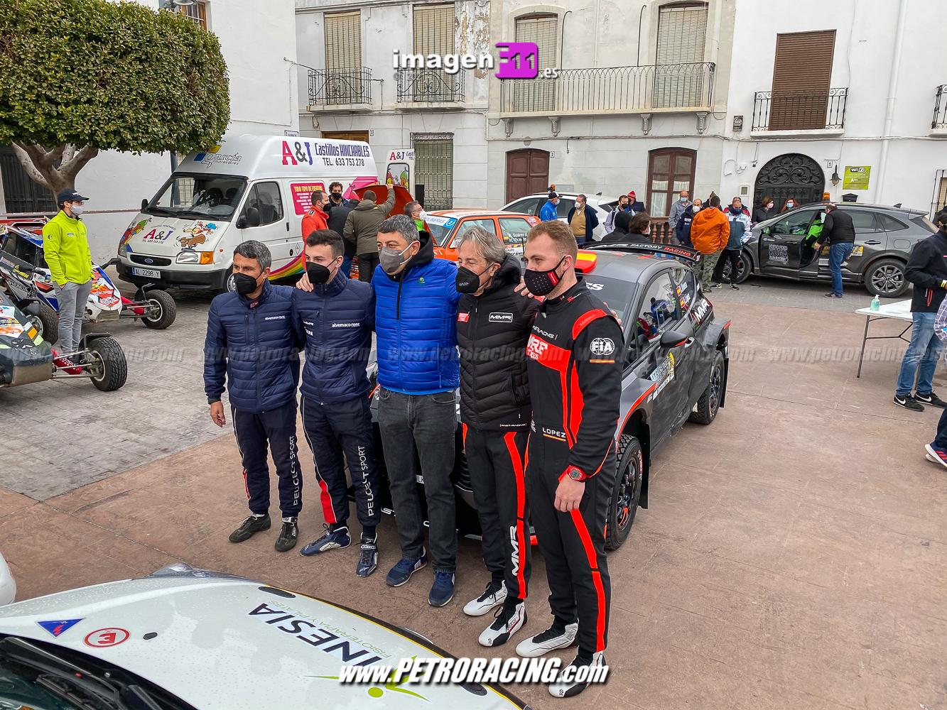 Past Racing, tramo cronometrado tierra Felix
