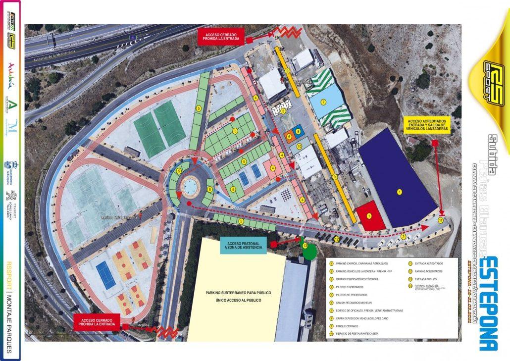 Instalaciones XII Subida Estepona - Peñas Blancas 2021