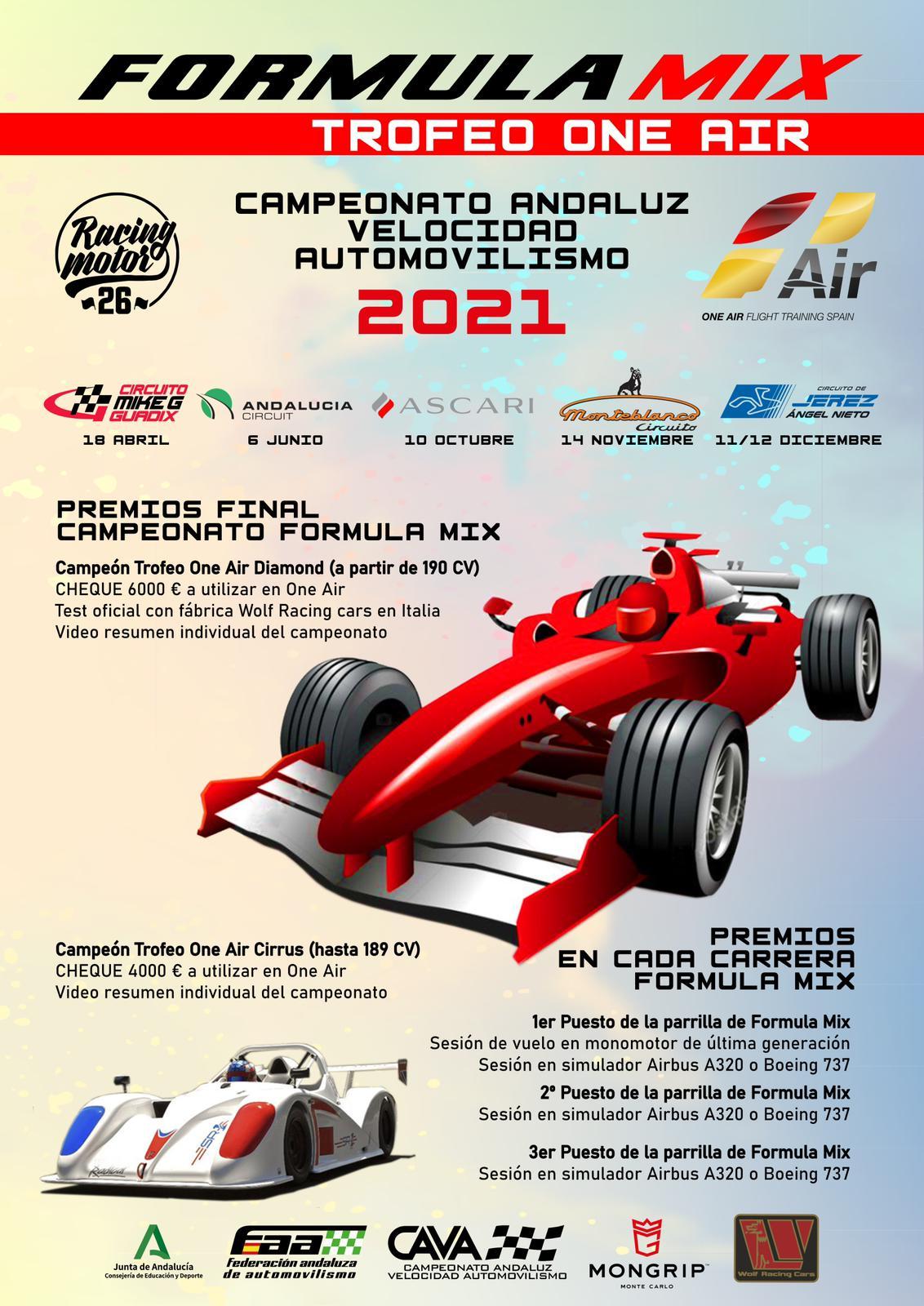 Cartel CAVA Fórmula Mix 2021