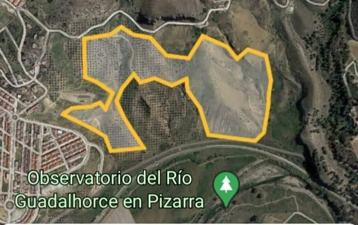 Recorrido Campeonato Andalucía Extremo 4x4 - Pizarra