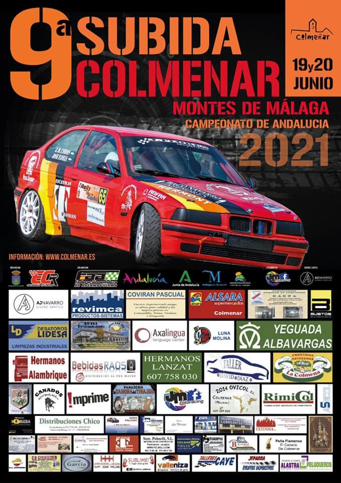 Cartel 9ªSubida Colmenar - Montes de Málaga