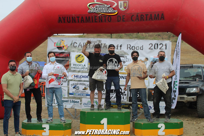 1º Pedro Daniel Guirado y Manuel Jesús Guirado; 2º Sergio Bravo y Pablo Antonio Pérez; 3º Bruno Bastos y Rui Gómez.