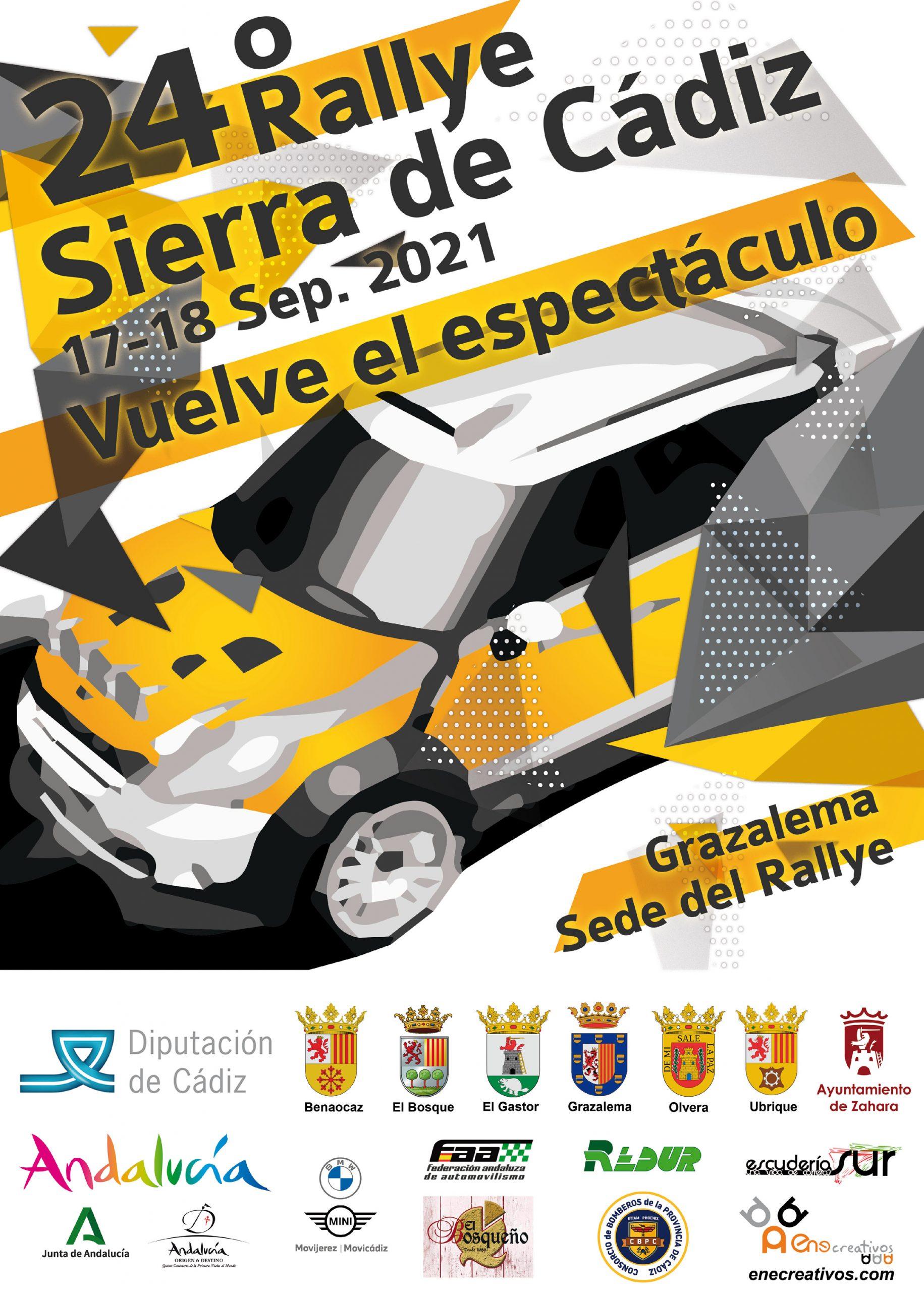 24º Rallye Sierra de Cádiz - Cartel