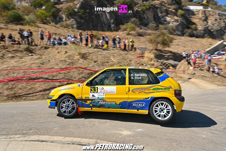 David Salvdor, Rallye Sierra de Cádiz