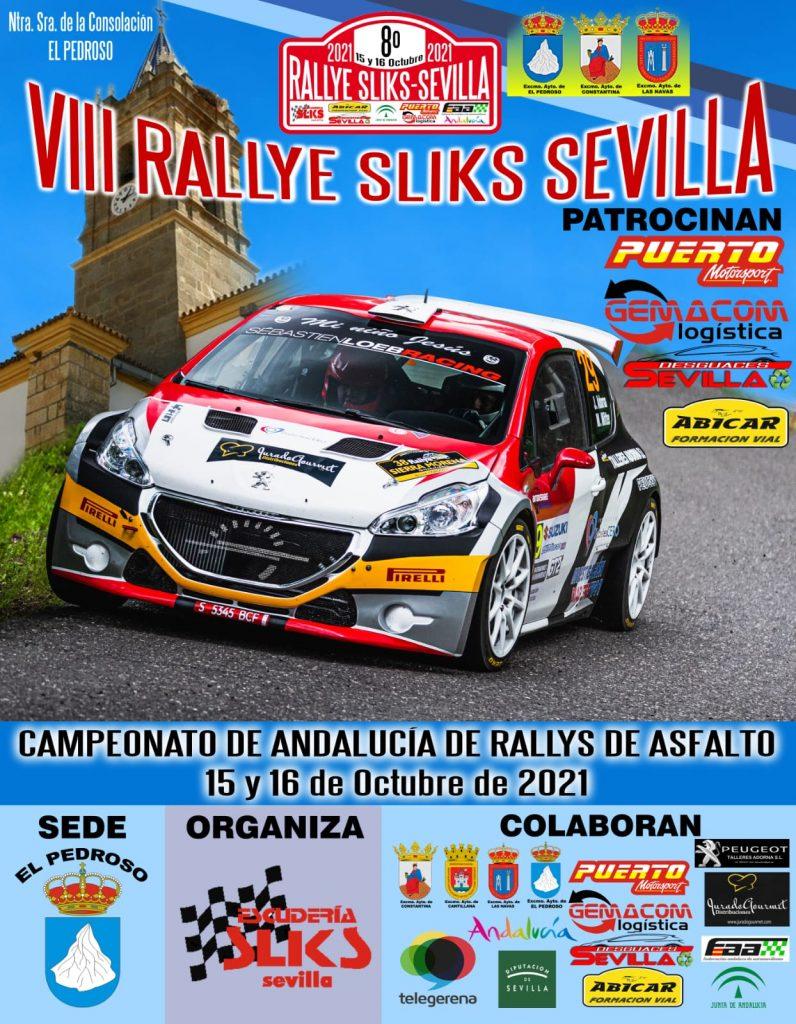 Cartel VIII Rallye Sliks Sevilla